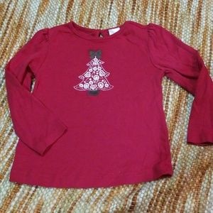 Gymboree 3t Christmas tree shirt girls